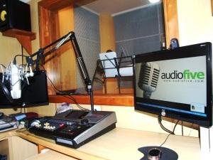 Novos Estudios de Gravação Audiofive Producões